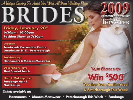 Brides 2009 Presented To You By Peterborough This Week