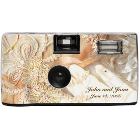 Disposable Camera, Antique Lace Wedding Camera, HerWeddingShop