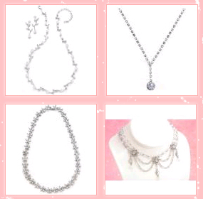 HerWeddingShop.com wedding jewelry, wedding necklaces